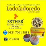 Esther Cream Pemutih Wajah